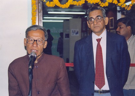 Rajkumar Jhaljit Singh at an Award ceremony