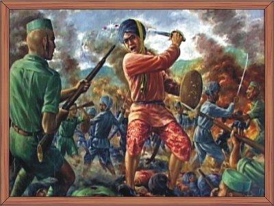 The battle of Khongjom