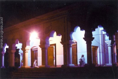 Bijoy Govinda Temple by night