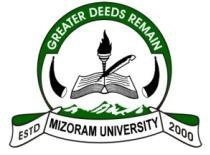 Mizoram University Logo
