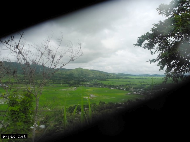 Picturesque Green foothill of Manipur